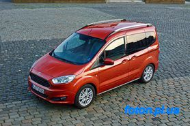 Запчасти на Форд (FORD) - FORD TOURNEO COURIER Kombi