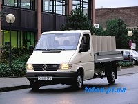 Мерседес (MERCEDES-BENZ)  SPRINTER 2-t c бортовой платформой/ходовая часть (901, 902)