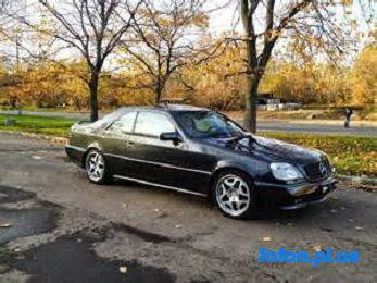 Мерседес (MERCEDES-BENZ)  CL Класс С140 (CL-CLASS купе (C140))