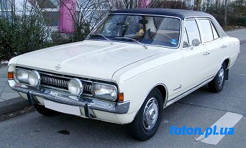 Опель (OPEL)  Командор А (COMMODORE A)