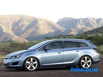 Запчасти на Опель (OPEL) - OPEL ASTRA J Sports Tourer